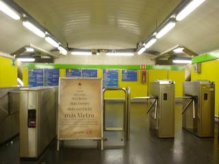 Más Metro y autobús en Navidad