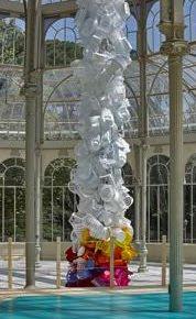 Otra exposición que no entiendo del Palacio de Cristal del Retiro