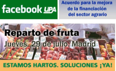 15000 kilos de Fruta gratis junto a Atocha