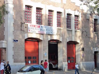 185 bomberos para todo Madrid