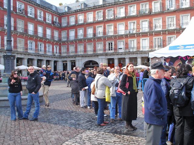 Todos los madrileños invitados el Sábado a tomar el aperitivo en la Plaza Mayor