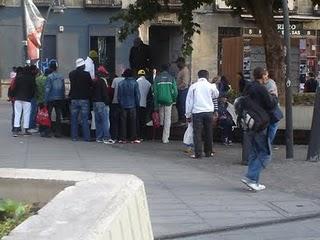 La degradación de la Plaza de Tirso de Molina