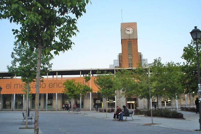 Sábados primeros de mes en el Mercado de Puerta de Toledo