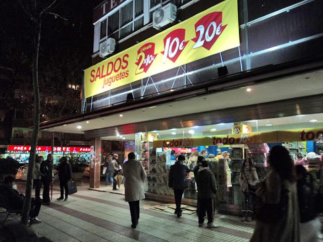 Las tiendas de Juguetes baratos en Madrid