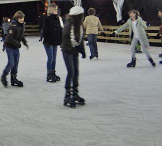 La Pista de patinaje sobre hielo de Ciudad Lineal
