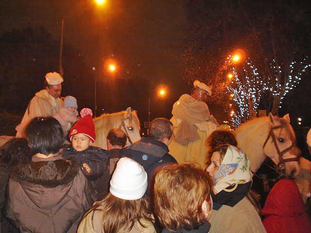 Cabalgata de Reyes 2009 en Madrid