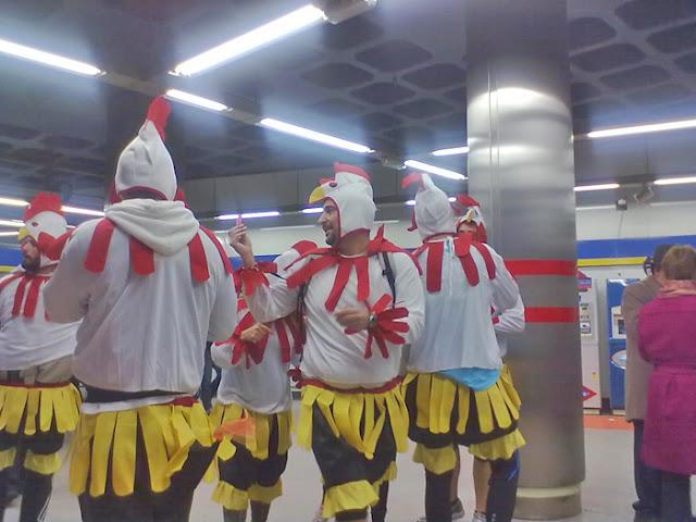La imagen de la Semana. San Silvesrte vallecana 2010