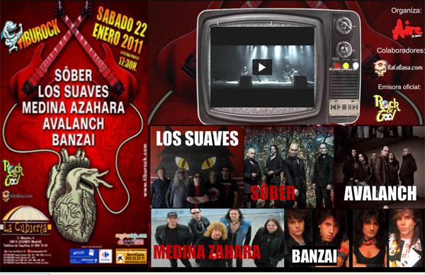 Festival Tiburock  2011 en la Cubierta de Leganés.