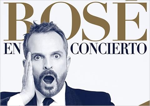 Concierto de Miguel Bosé en el Arteria Coliseum