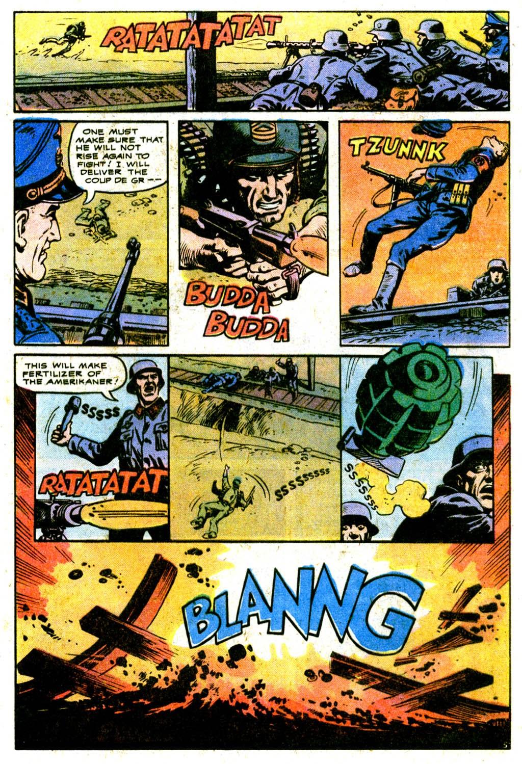 Read online Sgt. Rock comic -  Issue #316 - 5