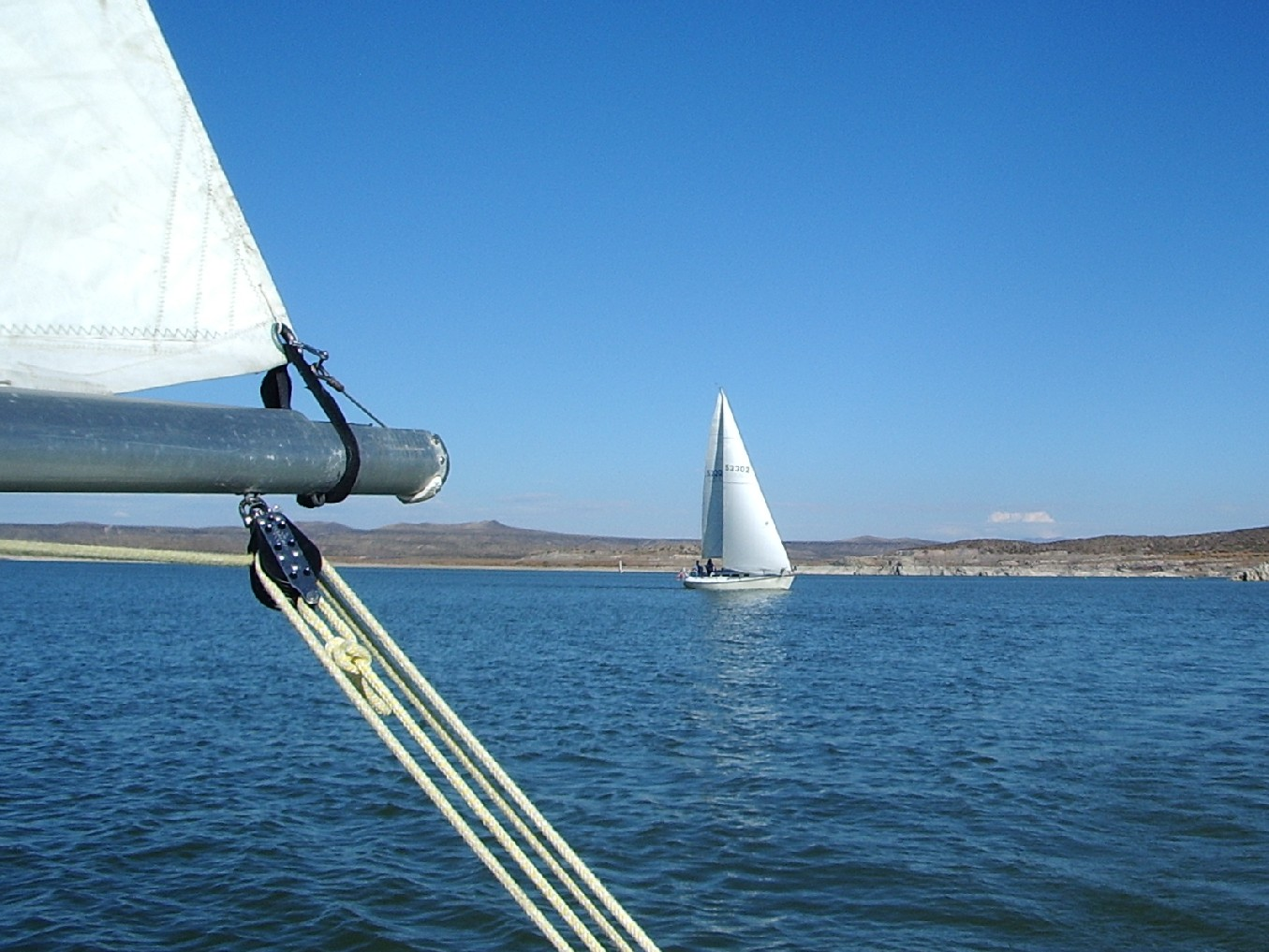 Desert Sea - New Mexico and Southwestern Sailing: Solo sail