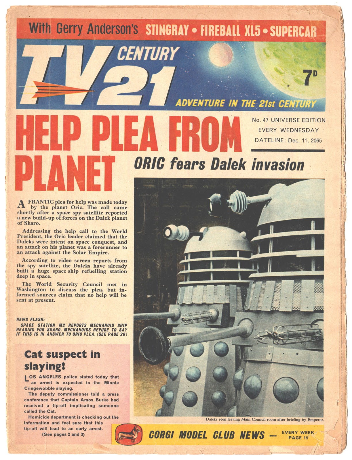 TV Century 21 (TV 21) 47 Page 1