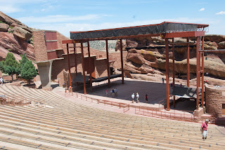 red rocks amphitheatre outside denver colorado