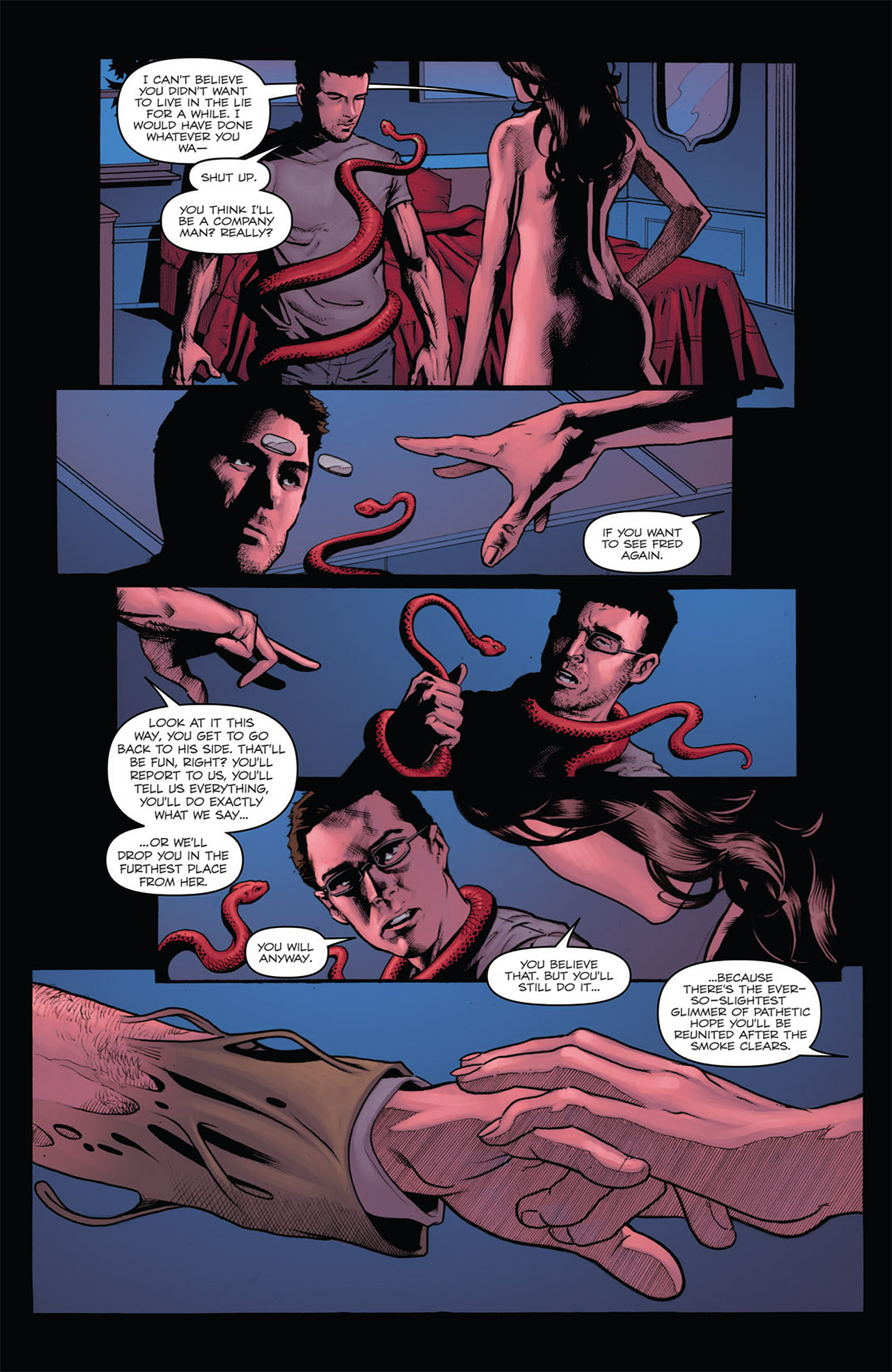 Read online Angel: After The Fall comic -  Issue #7 - 12