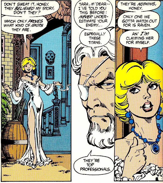 Character Of The Month Terra Dccomics