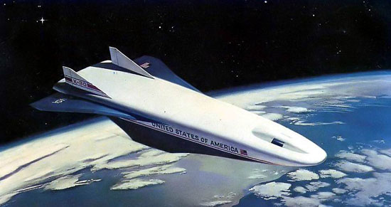 NASA Funds Spaceplane to Mars | HISTORIES OF THINGS TO COME
