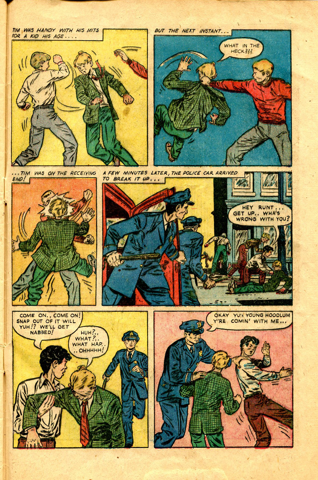 Read online Shadow Comics comic -  Issue #100 - 45