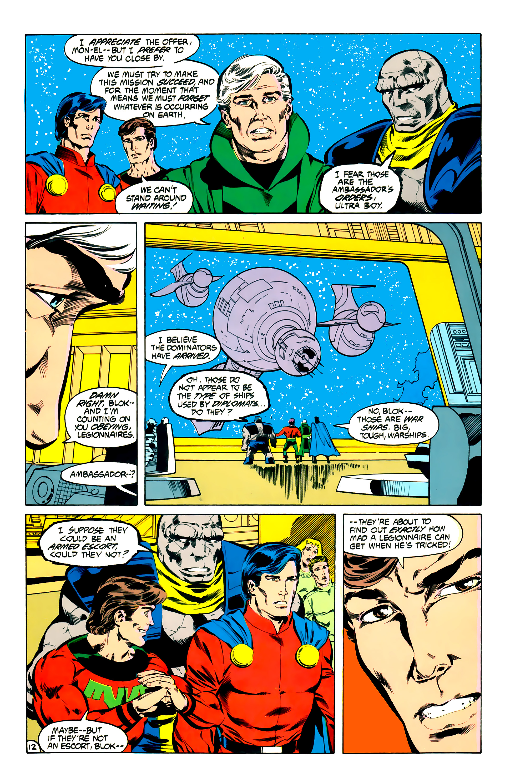 Legion of Super-Heroes (1984) 32 Page 11