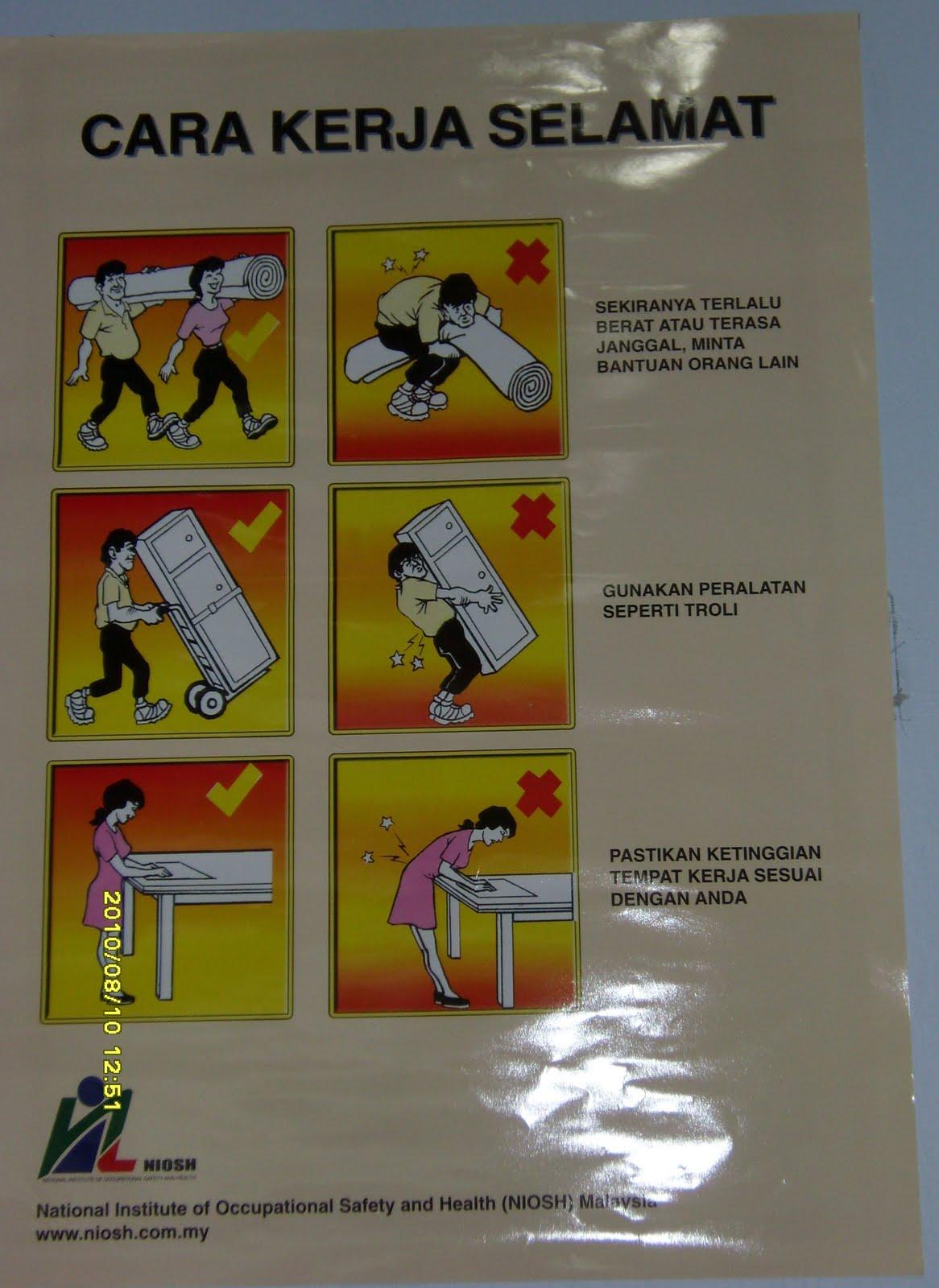 Radibemsafety1st Poster Keselamatan Di Premis Radibems Kota Damansara