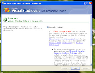 Visual Studio Upgrade from Express to Professional Edition