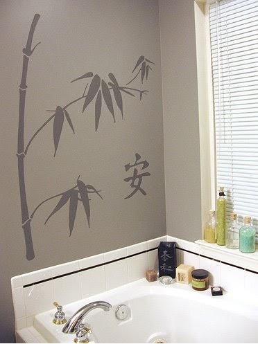 Asian Inspired Bathroom Decor 7