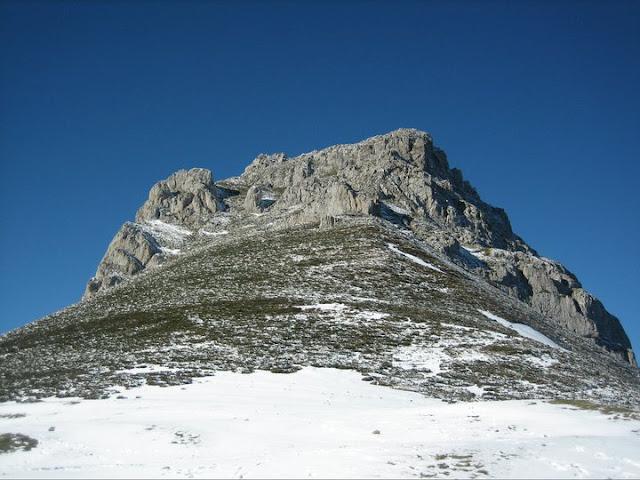 Rutas Montaña Asturias: Desde Les LLampes, la cara por la que subimos el Recuencu
