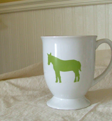 How to paint DIY animal mugs