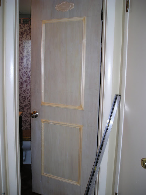 How To Faux Panel A Door Update Your Flat Paneled Door