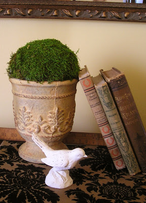 How to make your own moss topiary, it's super easy!