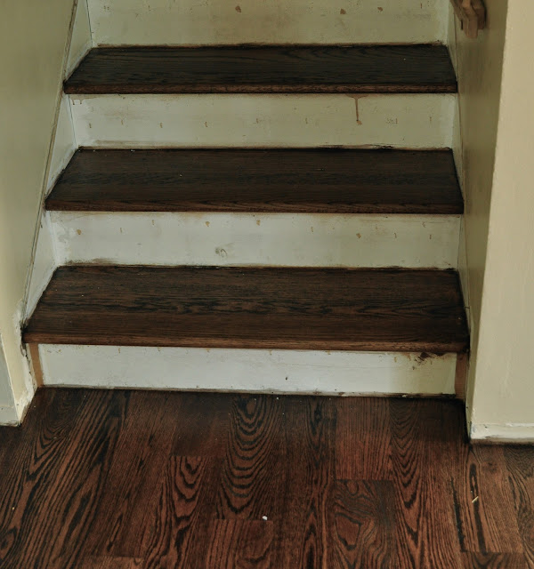 Stairway Makeover Before And After....