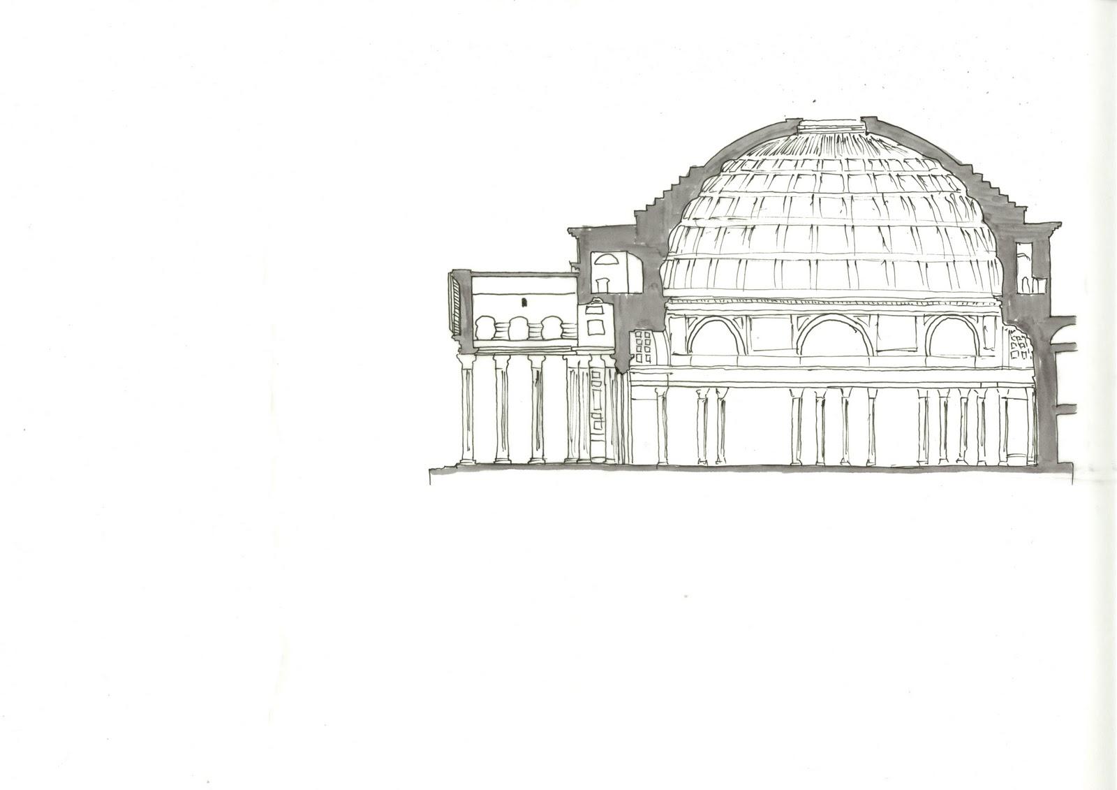 Palladio Villa Rotondayse Pantheon