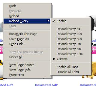 Refrescar automáticamente las páginas web con Firefox o Internet Explorer : Andromeda