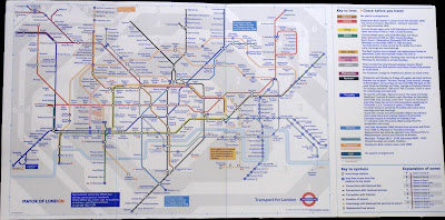 London Connections  Tube map watch  March 2008 A new copy of the pocket tube map is available at some tube stations  click  to enlarge