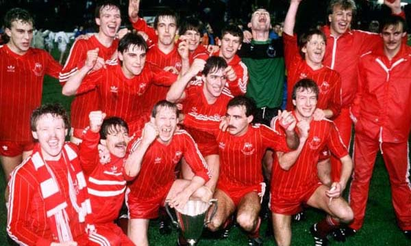 Fútbol 1987-88 Aberdeen