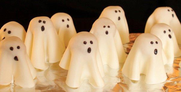 Ghost Cake Pops Starbucks