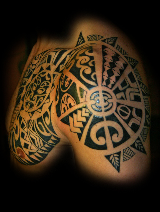 Maori Tattoo Studios: Blu Sky Tattoo Studio: Maori 64