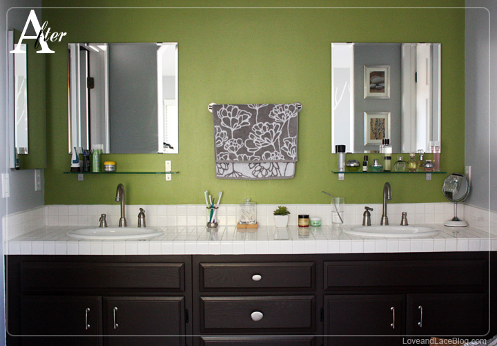 Help with dark wood color for painting cabinets - Painting bathroom cabinets black ...