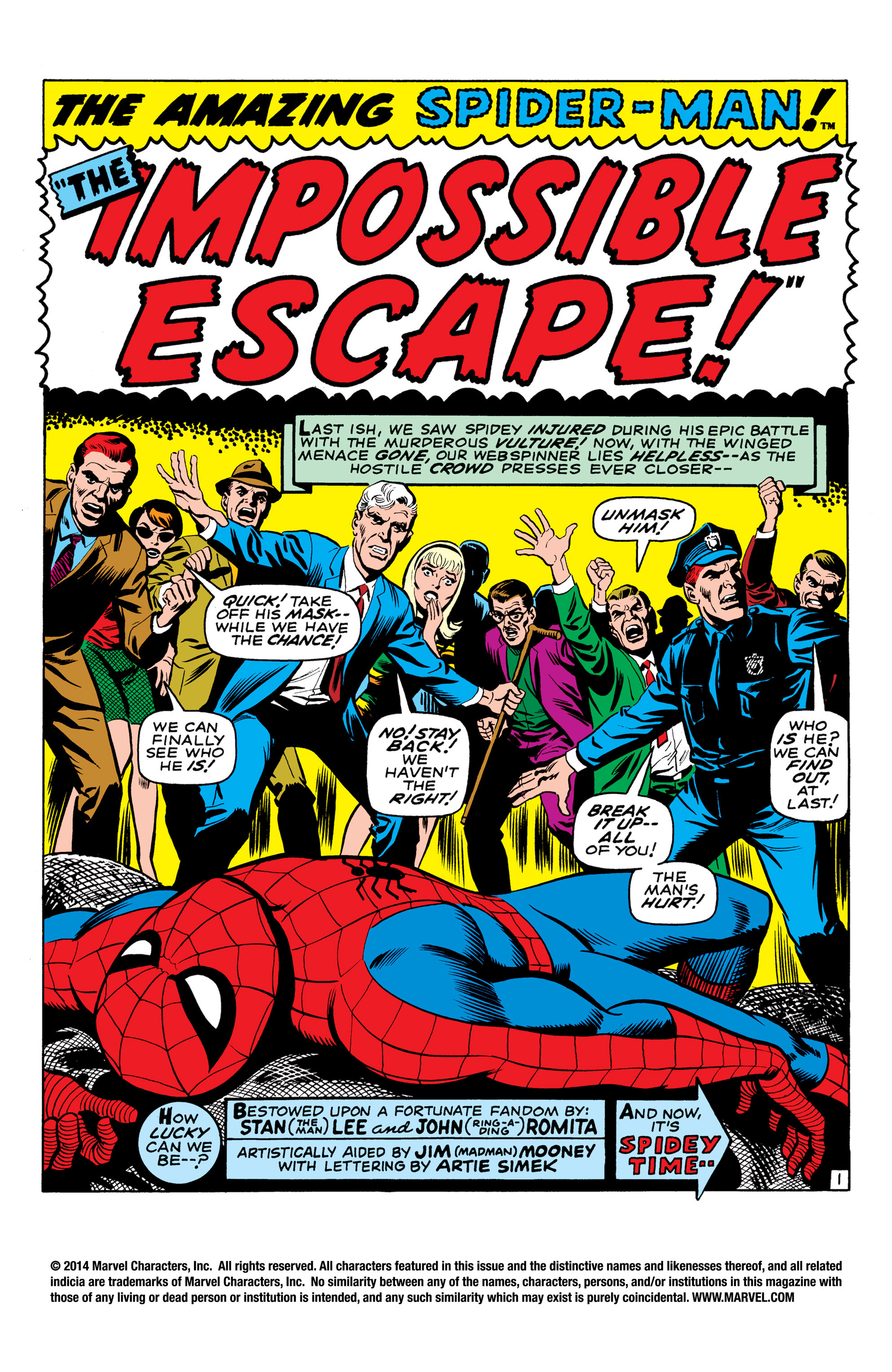 The Amazing Spider-Man (1963) 65 Page 1