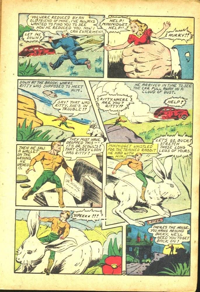 Read online Amazing Man Comics comic -  Issue #25 - 17