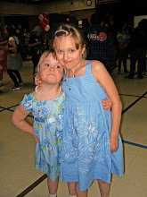 Allie & Katie at Humphrey Family Dance