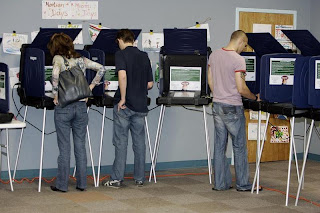 stocks voting booth