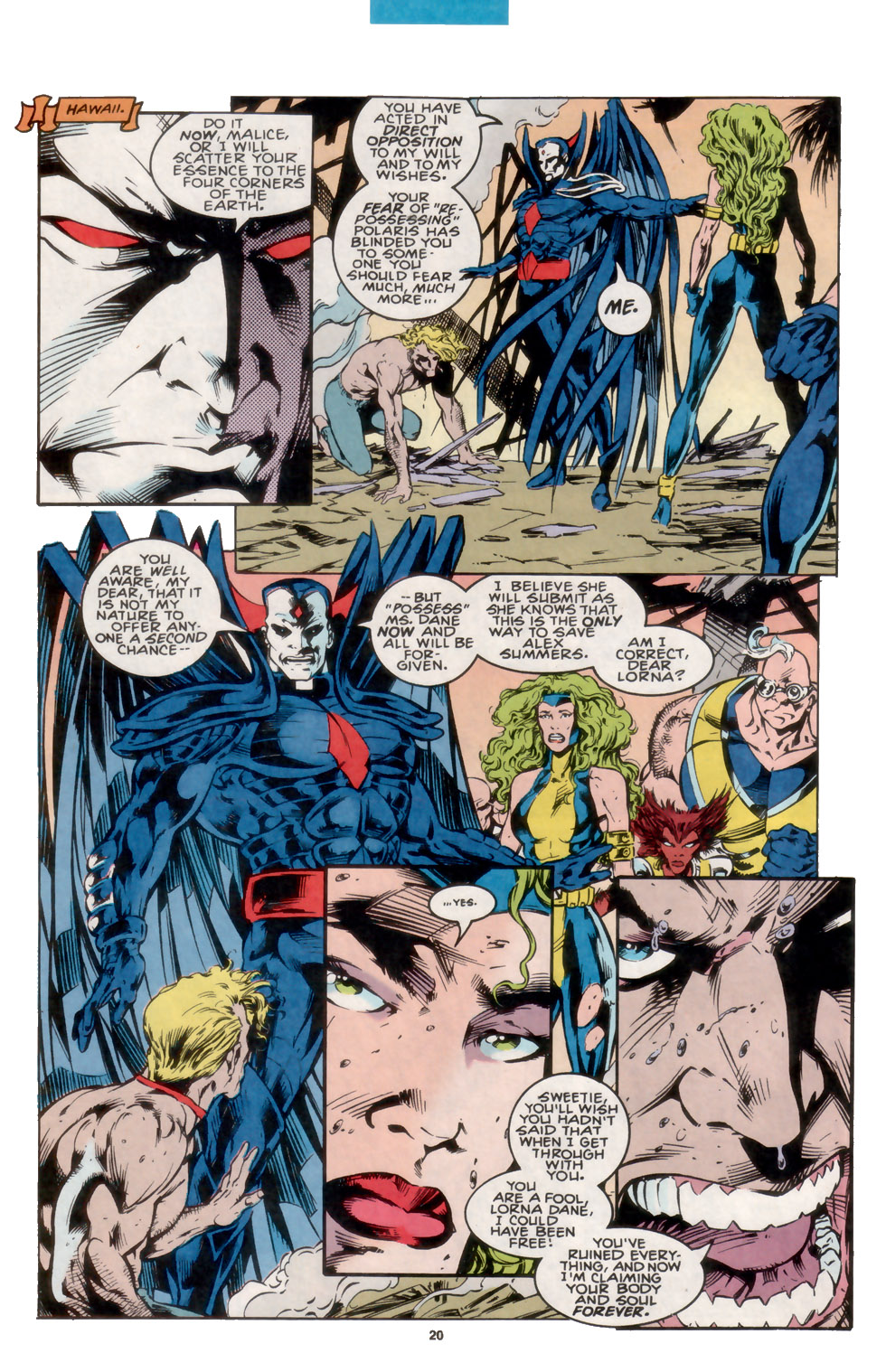 Read online X-Factor (1986) comic -  Issue #105 - 17