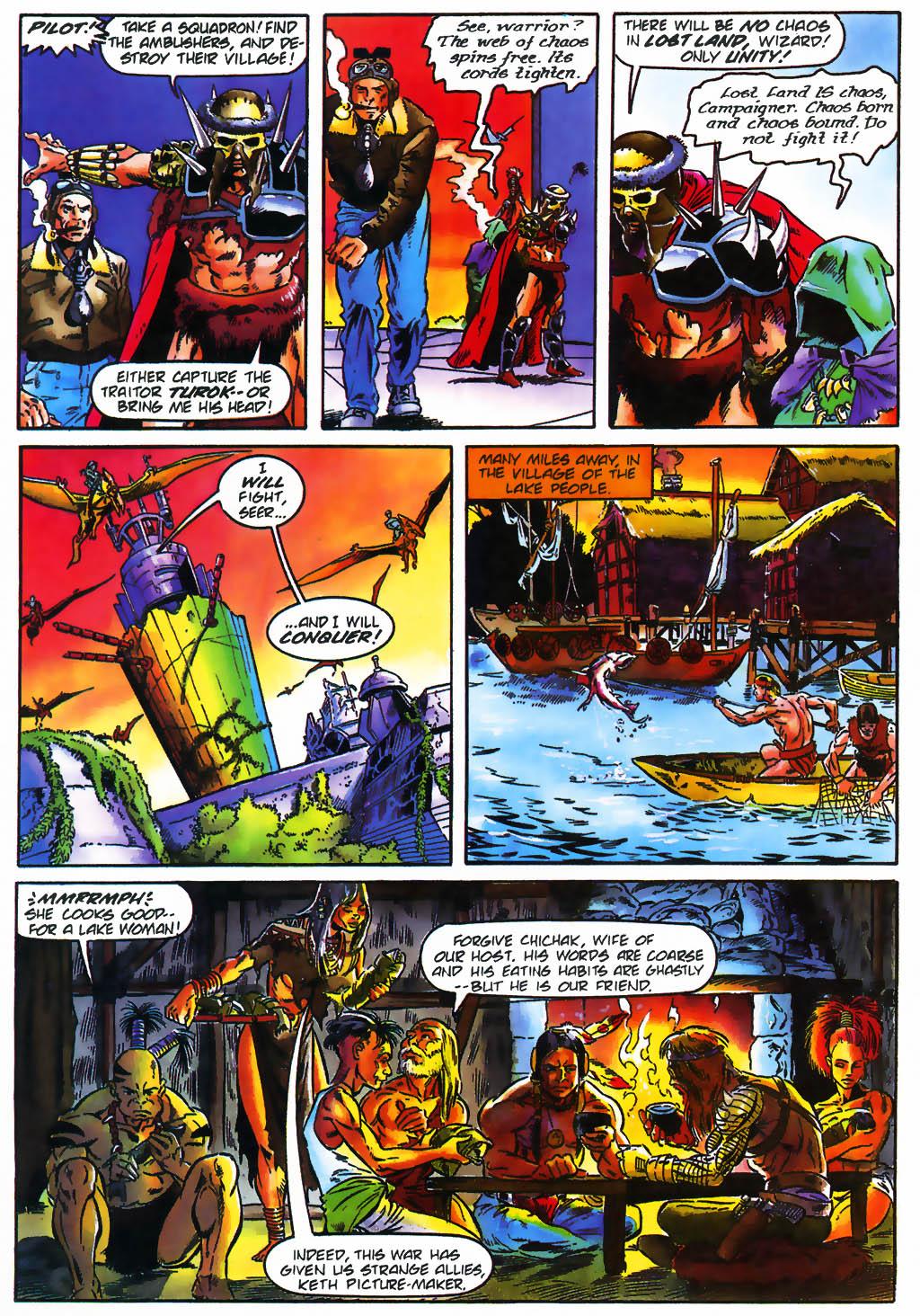 Read online Turok, Dinosaur Hunter (1993) comic -  Issue #26 - 14