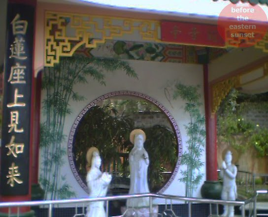 Statues in Cebu Taoist Temple