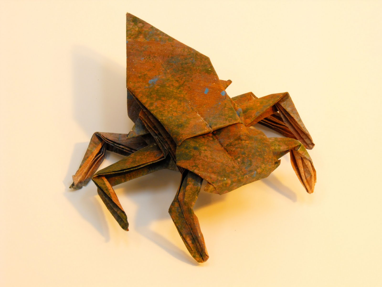 origami gissendanner: Origami Insects and Such - photo#1