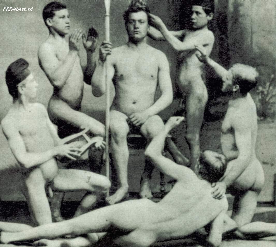 Vintage nude men