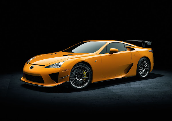 Lexus Introduces 2012 LFA Nürburgring Package