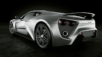 Zenvo ST1 2010 Supercar backside
