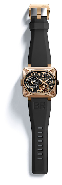 BR Minuteur tourbillon Pink gold Limited Edition to 30 pieces rubber