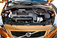 The new Volvo V60 sports wagon engine